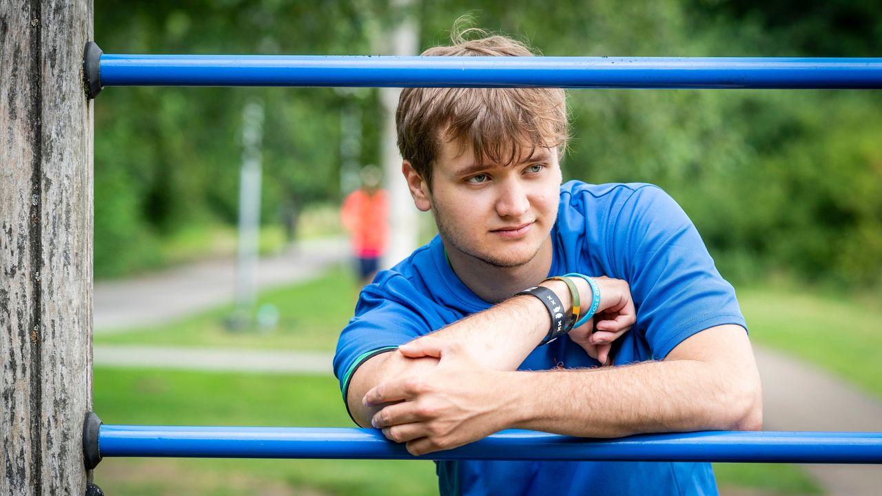 Een portretfoto van Christian (22)